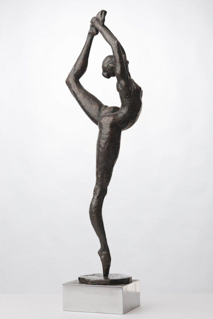 Monika Osiecka rzeźba Balet III h 71 cm