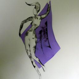 Tancerka z chusta