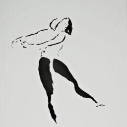 DG 67-1996 tusz na papierze 43×34 cm