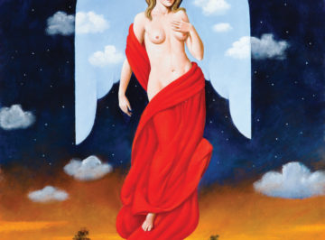 4144 – Randezvous with Angel – 80×61 cm