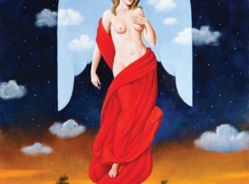 4144 – Randezvous with Angel – 80×61 cm
