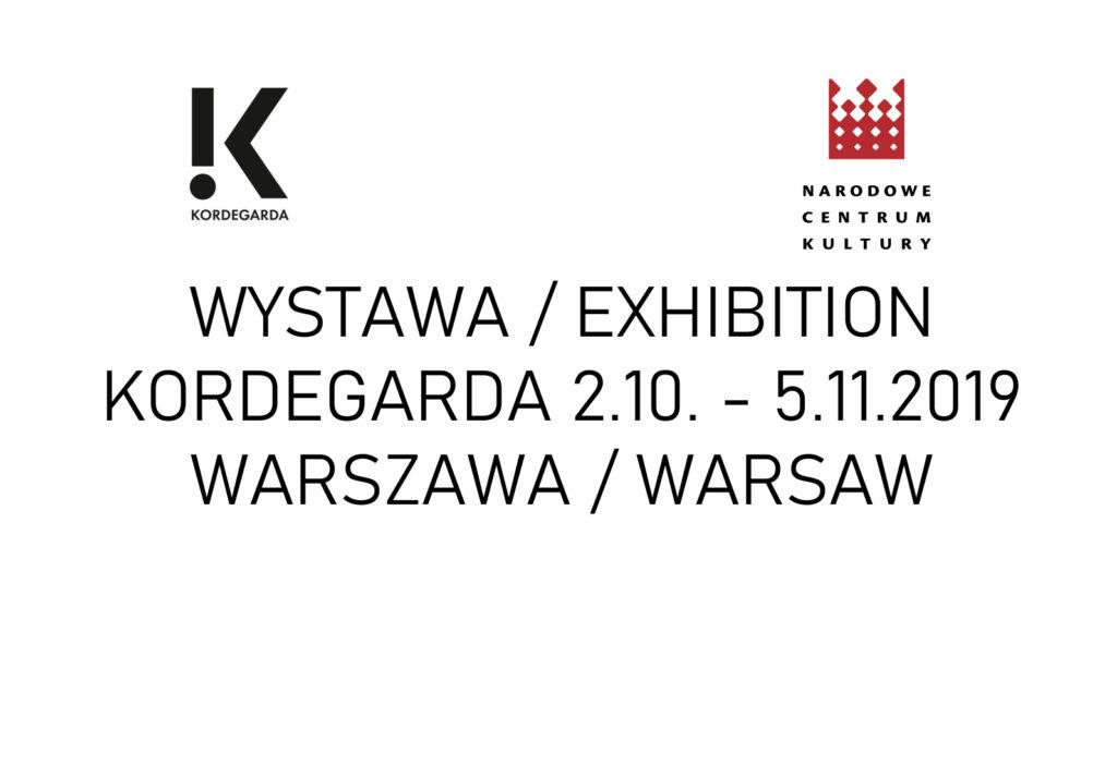 Wystawa Kordegarda 2019, NCK