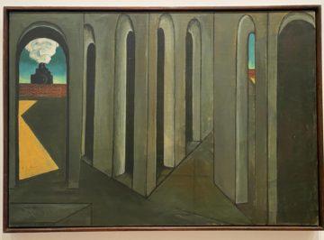Giorgio de Chirico, The Anxious Journey, 1913