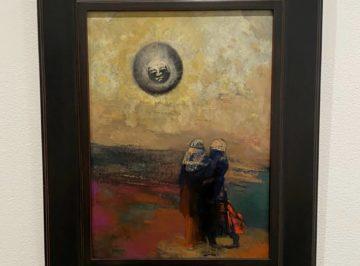 Odilon Redon, The Black Sun, c. 1900