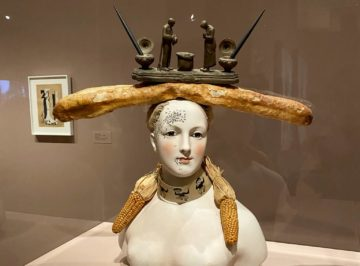 Salvador Dalí, Retrospective Bust of a Woman, 1933 (some elements reconstructed 1970)
