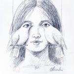 Shortsided memoirs 50 x 35 cm
