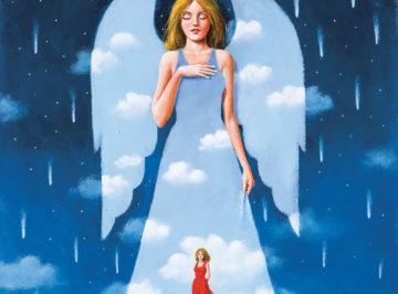 Olbiński Meet My Guardian Angel – 54×44 cm