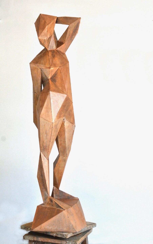 Młoda dziewczyna Paweł Orłowski rzeźba